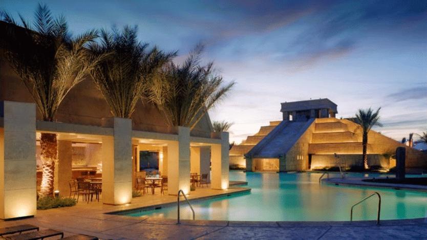 En Suite Bathrooms At The Cancun Resort In Las Vegas: Cancun Resort Las Vegas 2 Bedroom Villa