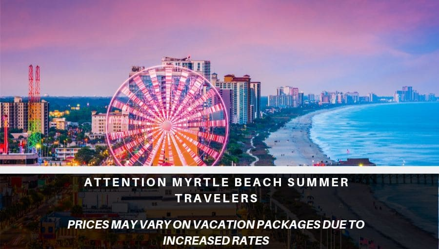 Myrtle Beach Vacations Packages | All Inclusive Family